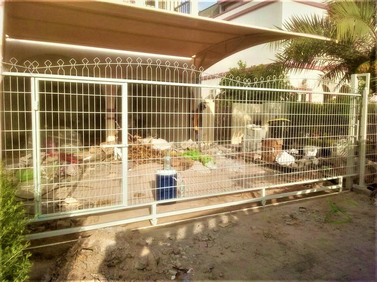 RTA fence for Villa